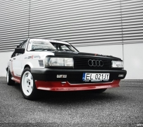 Audi 80 B2 4.2 V8 Quattro. Powered by ZTR.