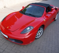 Ferrari F430 Turbo replika (MR2 1ZZ-FE). Powered by ZTR.