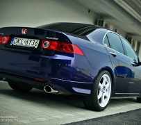 Honda Accord K24 Turbo. Powered by ZTR.