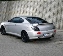 Hyundai Coupe 2.0 Turbo. Powered by ZTR.