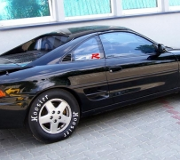 Toyota MR2 Turbo. Powered by ZTR.